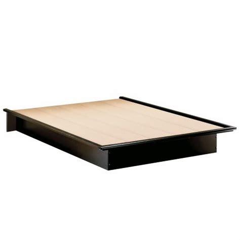 fullsize bed frame size modern platform bed frame in black finish