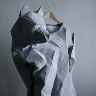 origami garments inspiration on the folding garments front missingdimensions