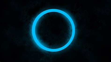 light graphics abstract artwork backgrounds black blue circles color