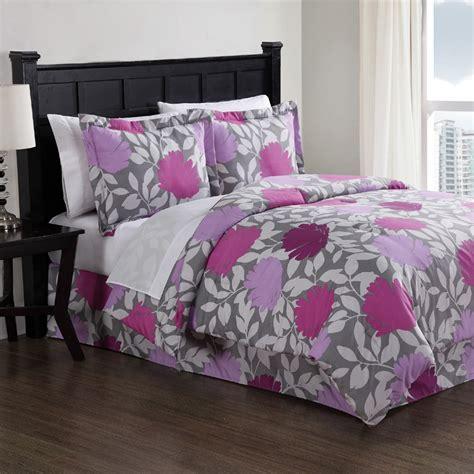 comforter sets purple purple graphic floral comforter set rosenberryrooms