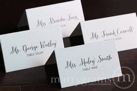 how to make place cards for wedding name cards for wedding reception place card thick style