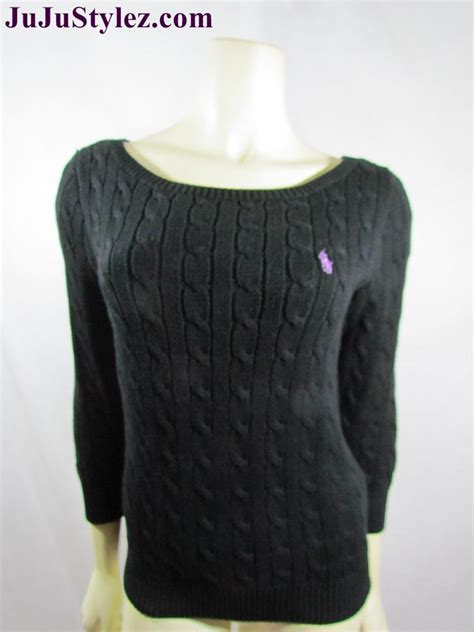 womens ralph cable knit sweater new ralph sport womens cable knit sweater knit top