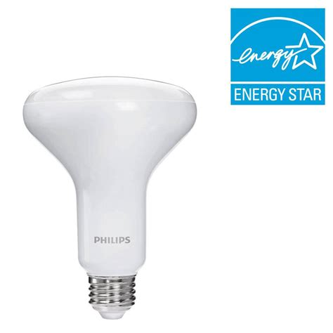 warm glow led lights philips 65w equivalent soft white br30 dimmable led warm