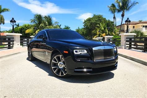 Rolls Royce For Rent by Rolls Royce Wraith Rental Miami Rent Rolls Royce At Top
