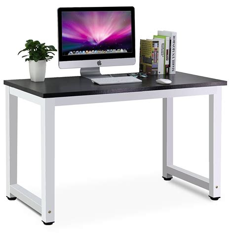 modern computer desk for home tribesigns modern simple style computer desk pc laptop