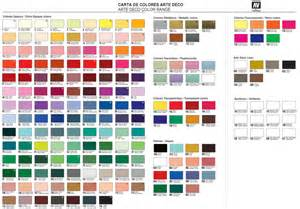 deco americana acrylic paint chart vallejo paints color chart image mag