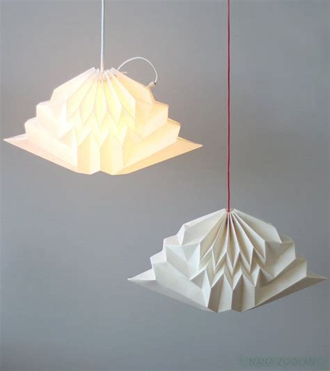origami l shade paper pendant shade pendant light with pleated paper