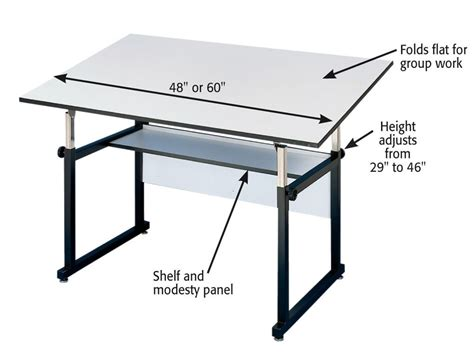 student drafting table workmaster drafting and drawing tables jerry s artarama