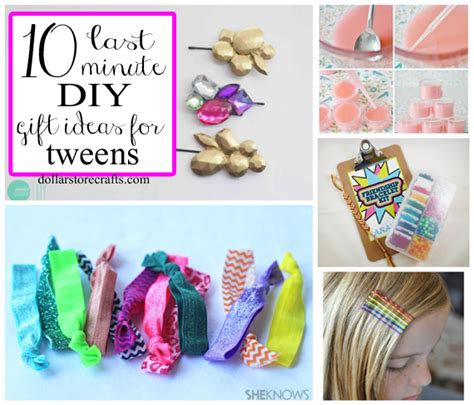 diy crafts for gifts 10 last minute diy gifts for tween crafts clever