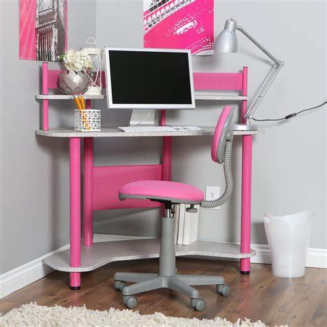 desk pink calico study corner desk pink
