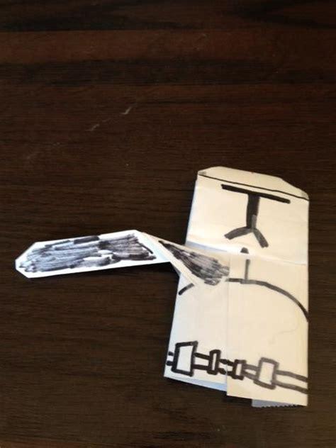 origami clone trooper clone trooper origami yoda