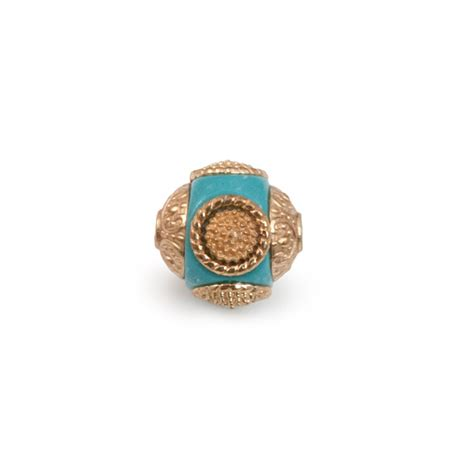 resin jewelry supplies mongolian resin bead 14mm turquoise gold resin jewelry