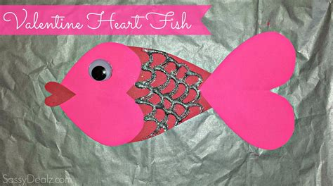 valentines day arts and crafts for fish craft for crafty morning