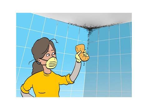 enlever la moisissure dans la salle de bains et pr 233 venir apparition humidit 233 livios