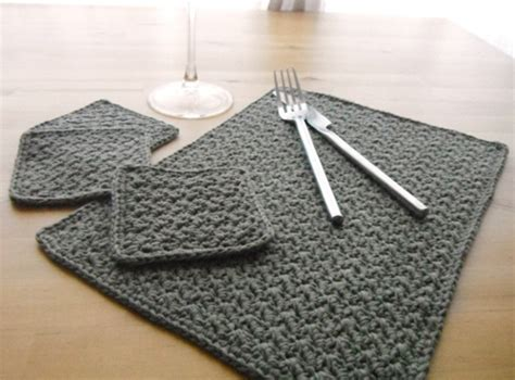 knitted placemats miss s patterns free patterns 20 placemats