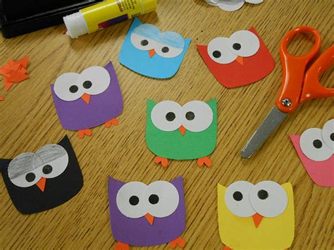 owl crafts for ink interactive neighborhood for owl craft week