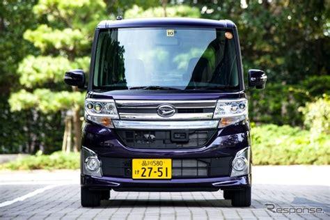 Daihatsu Japan by Japan Year 2014 Kei Cars Surge Daihatsu Tanto