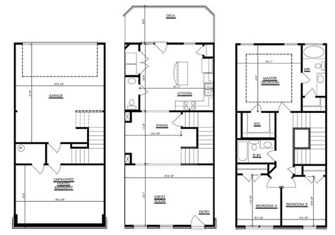 3 story townhouse floor plans 23 surprisingly 3 story townhouse floor plans