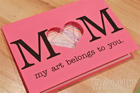 how to make simple mothers day cards s day cards project