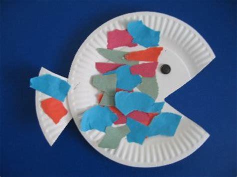 paper plate craft for preschoolers preschool paper plate fish