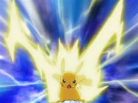 thunder in use pikachu use thunderbolt