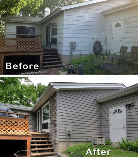before and after small home modernize ranch house remodel before and after ranch