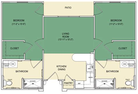 assisted living floor plans senior assisted living facilities arabella athens tx