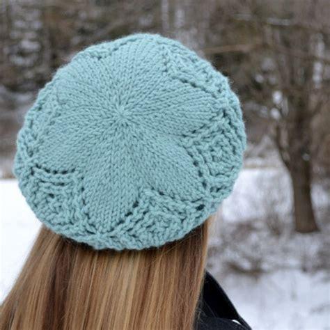 beret knitting pattern needles frostbitten beret pattern knitting patterns and crochet