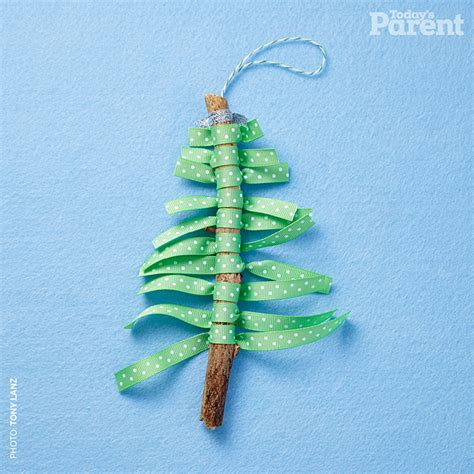 ribbon crafts for rustic tree craft for today s parent