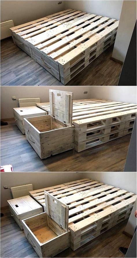 make bed frame how to make a pallet bed frame unac co