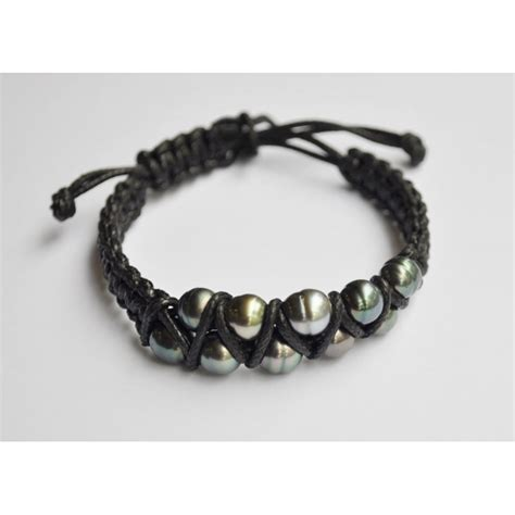 braided bracelets with braided bracelet with tahitian pearls cicorella designer