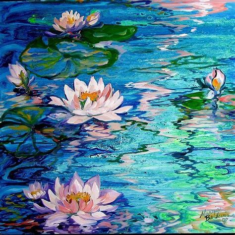 acrylic painting water lilies best 25 water lilies painting ideas on