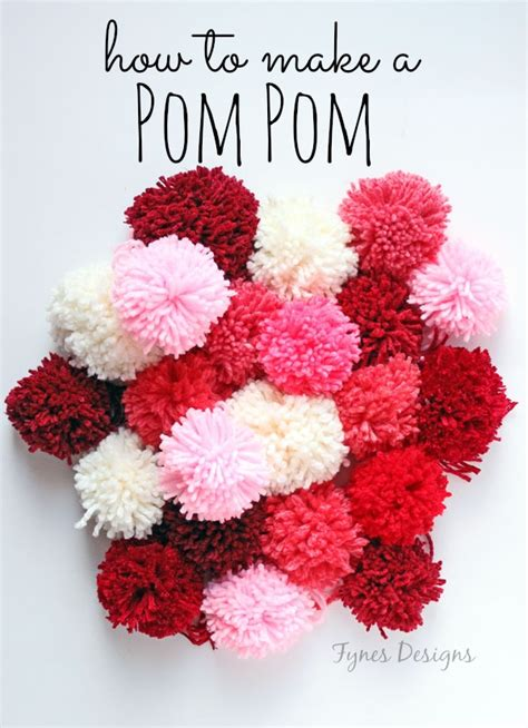 how to make a pom pom for a knit hat how to make a pom pom fynes designs fynes designs