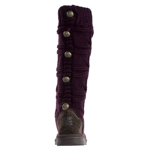 muk luks knit boots muk luks knit boots for save 52