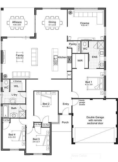 unique house plans with open floor plans creative open floor plans homes inspirational home