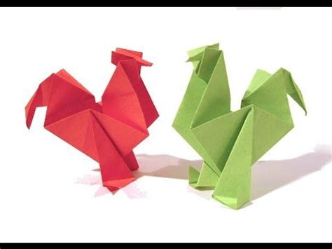 origami chicken the world s catalog of ideas