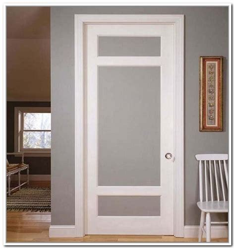 white interior door with glass china white color interior room door with frosted