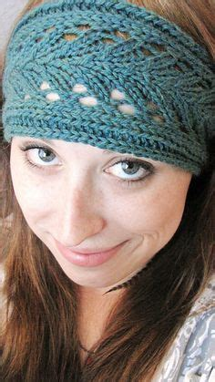 how to knit a simple headband lacy knitted headband i just made one and it was so easy