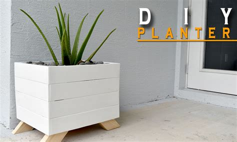 pallet planter boxes diy planter box from pallets