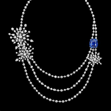 how to make expensive jewelry limelight garden necklace in 18k white gold set