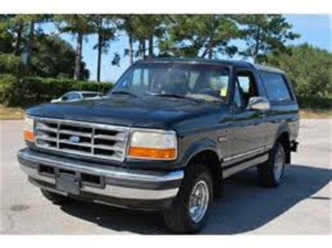 free car repair manuals 1996 ford bronco regenerative braking 1996 ford bronco repair manual