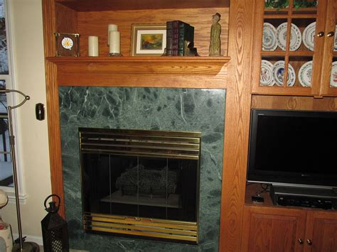 chalk paint fireplace tile hometalk how to update the fireplace without ripping out