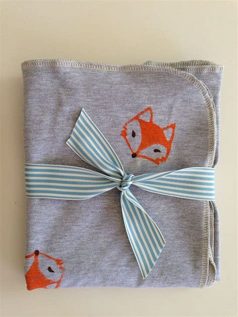 jersey knit blanket 22 best images about fox nursery on