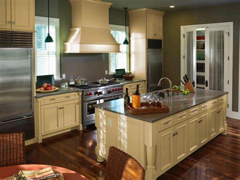 kitchen design layouts with islands kitchen layout templates 6 different designs hgtv