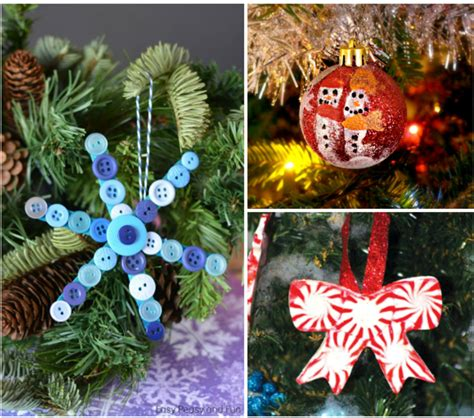 handmade ornaments to make 25 diy handmade ornaments