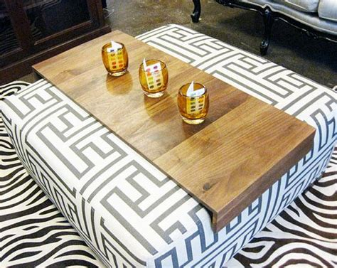 drink tables for the sofa ottoman wrap tray reclaimed wood drink rest table for