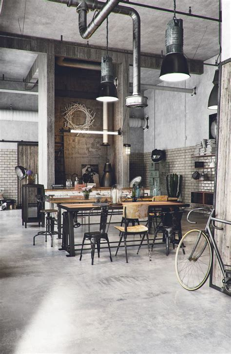 industrial decor best 25 industrial cafe ideas on industrial
