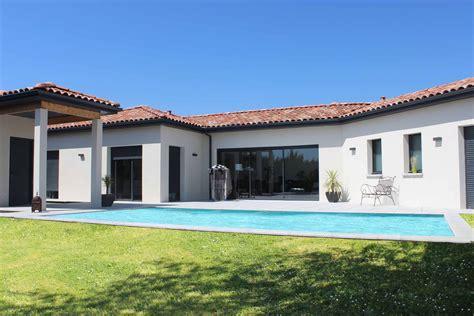 maison contemporaine plain pied maison moderne
