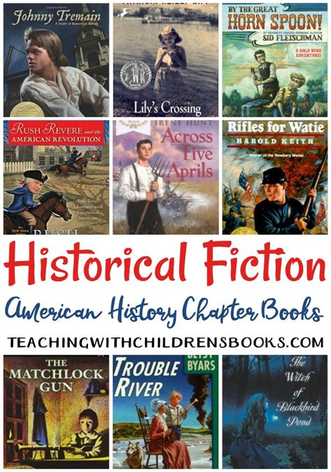 american history picture books the best historical fiction books for american history