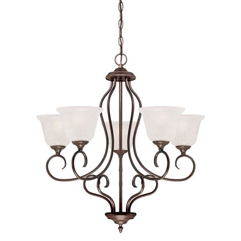 cleveland chandelier shop millennium lighting cleveland 27 25 in 5 light rubbed